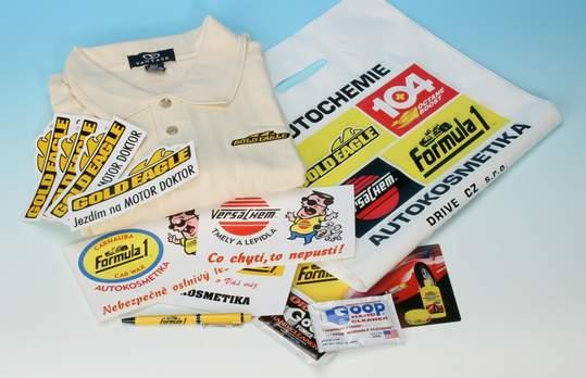 Propagace, tužky, trička, reklamní tašky...