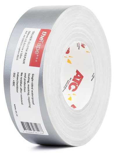 Cloth Repair Tape Silver