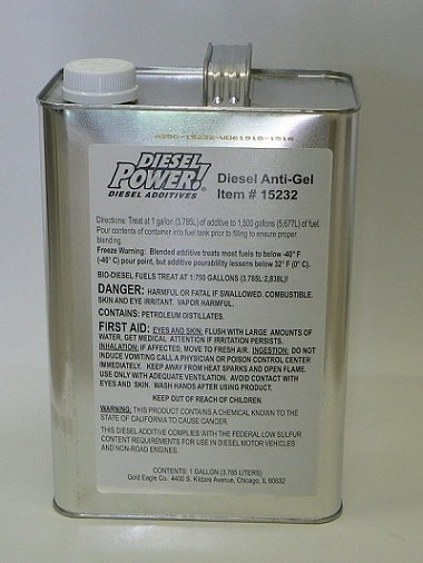 Diesel Anti-Gel  1 gallon
