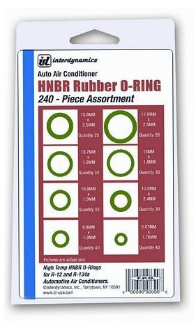 O-ring Assortment 240