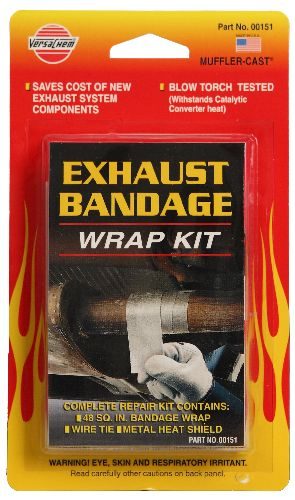 Exhaust Bandage Wrap Kit